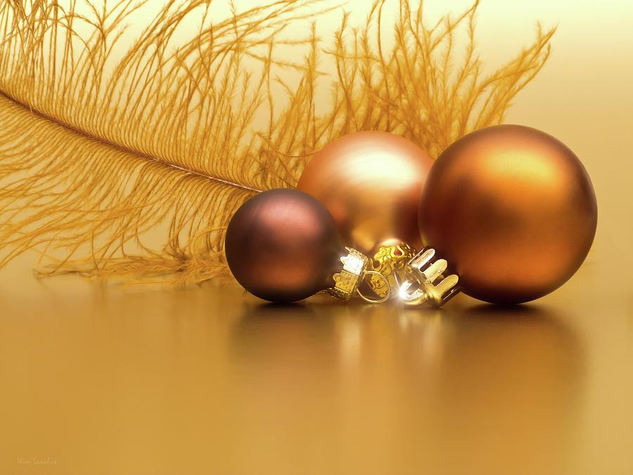Golden Photograph - Golden Christmas by Wim Lanclus