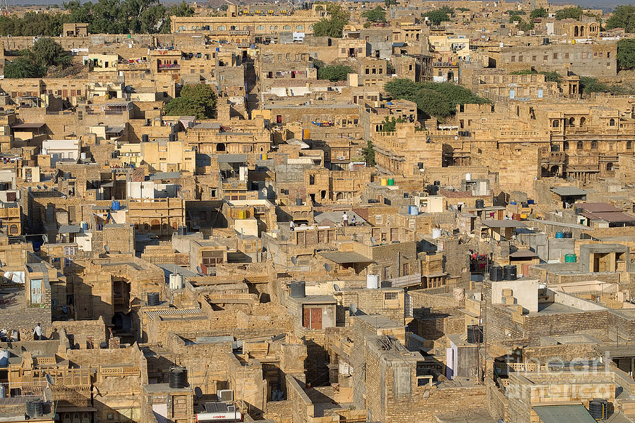 Golden City Jaisalmer by Yew Kwang