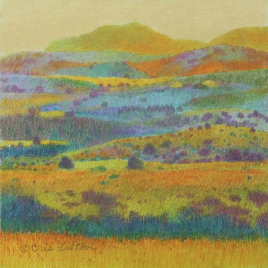 North Dakota Painting - Golden Dakota Day Dream by Cris Fulton