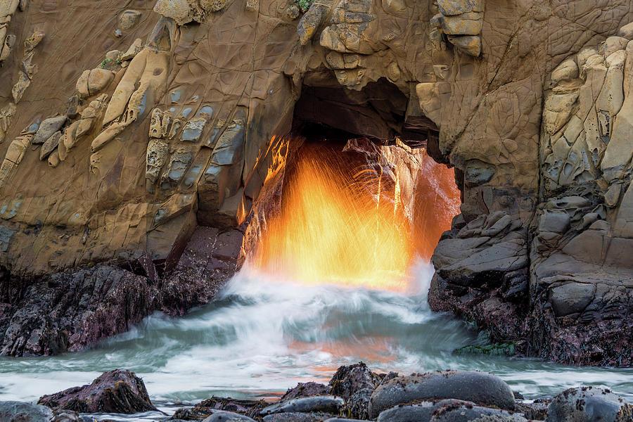 Big Sur - Pfeiffer Beach - Golden Door Photograph