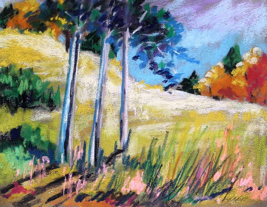 Fields Painting - Golden Fields by John Williams
