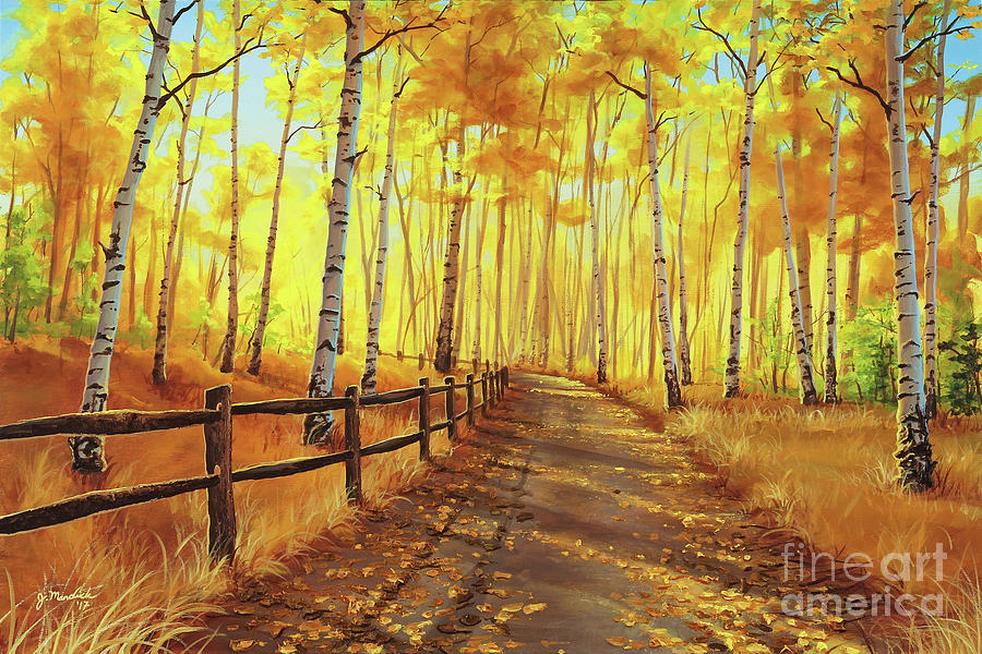 Golden Forest by Joe Mandrick