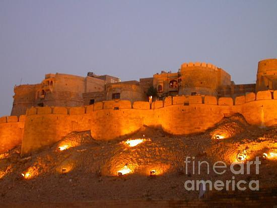 Golden Fort Jsm Photograph by Mann Dharmendra Suthar