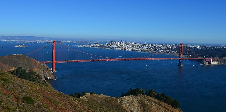 Golden Gate 1 by Dragan Kudjerski