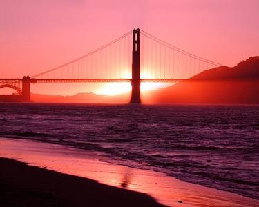Golden Gate Bridge Photograph - Golden Gate Bridge by Richard Nodine