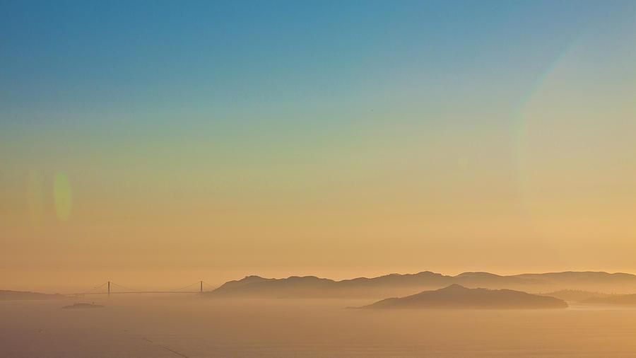 Sf Photograph - Golden Gate Bridge Colour by Digiblocks Photography