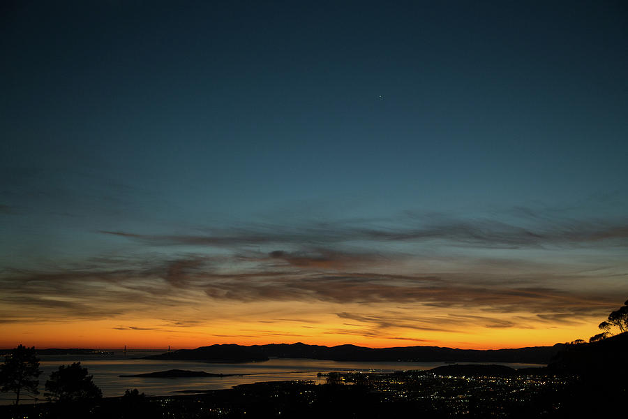 Golden Gate Bridge Dusk by Digiblocks Photography