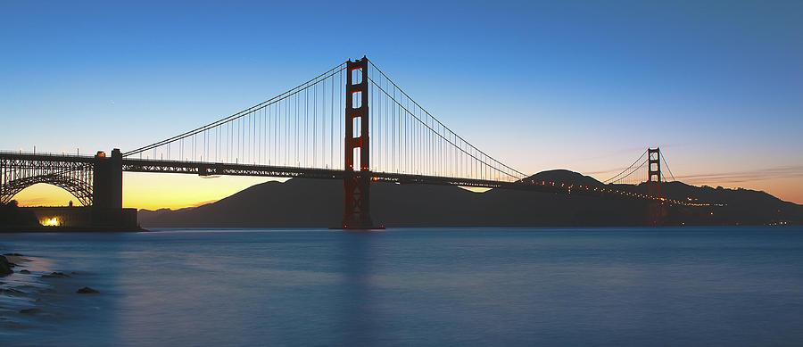 Landscape Photograph - Golden Gate Bridge by John Willy