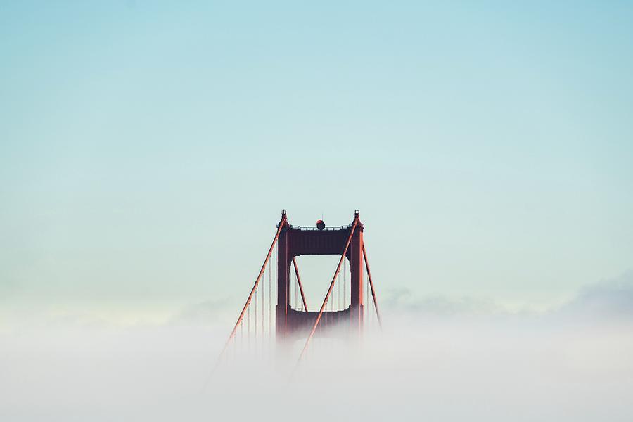 Golden Gate Bridge Photograph - Golden Gate Bridge by Joshua Sortino