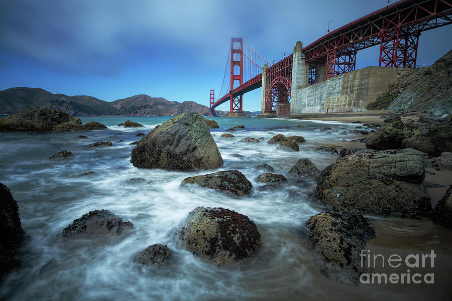 Golden Gate Bridge Photograph - Golden Gate Bridge by Martin Williams