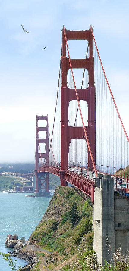 Landmarks Photograph - Golden Gate Bridge by Mike McGlothlen