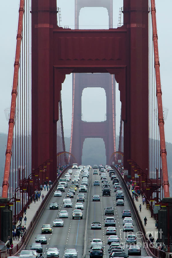 Golden Gate Bridge, San Francisco by Andy Myatt