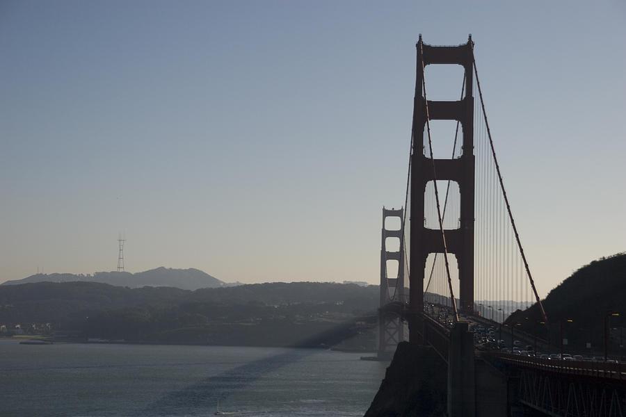 Bridge Photograph - Golden Gate Bridge by Wes Shinn