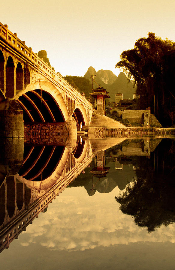 China Photograph - Golden Gate by Royce Gorsuch