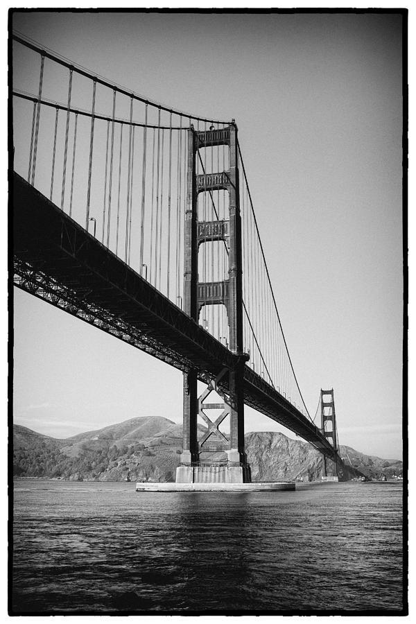 Golden Gate Bridge Photograph - Golden Gate by Tanya Harrison