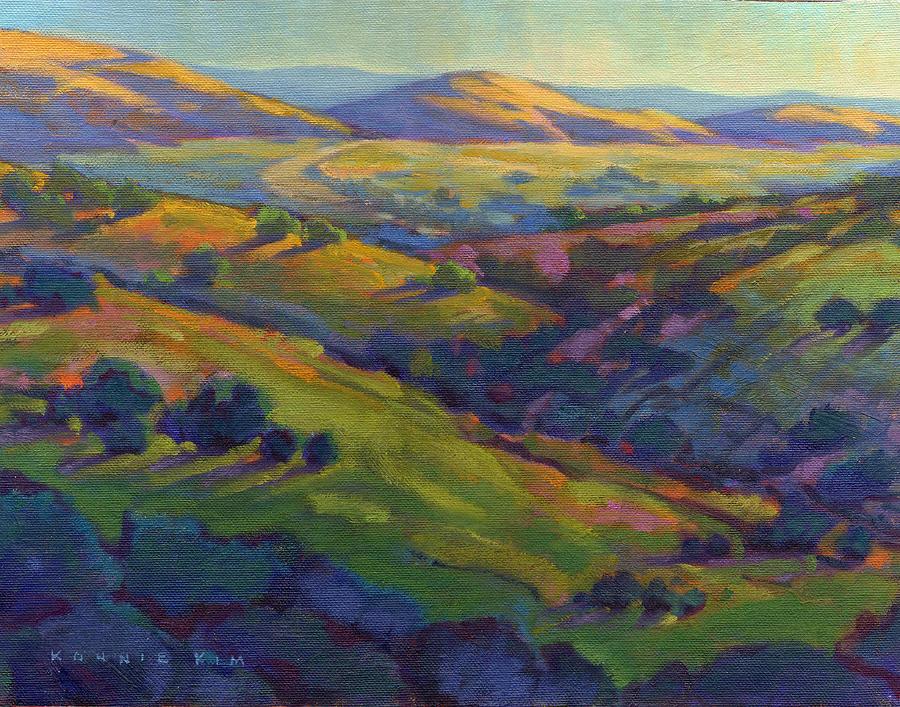 Golden Hills by Konnie Kim