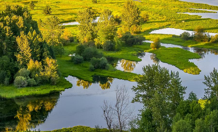 Idaho Photograph - Golden Hour by Albert Seger