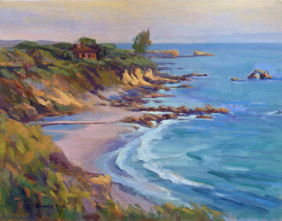 Golden Hour at Corona del Mar by Konnie Kim