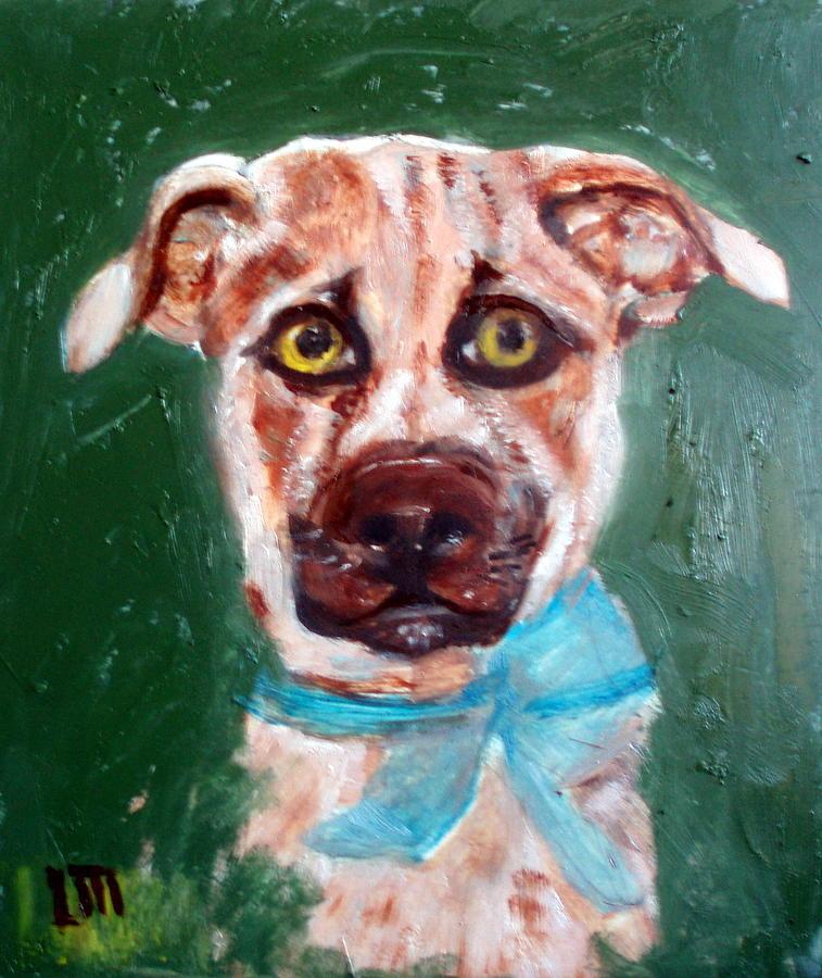 Animals Painting - Golden by Lia  Marsman