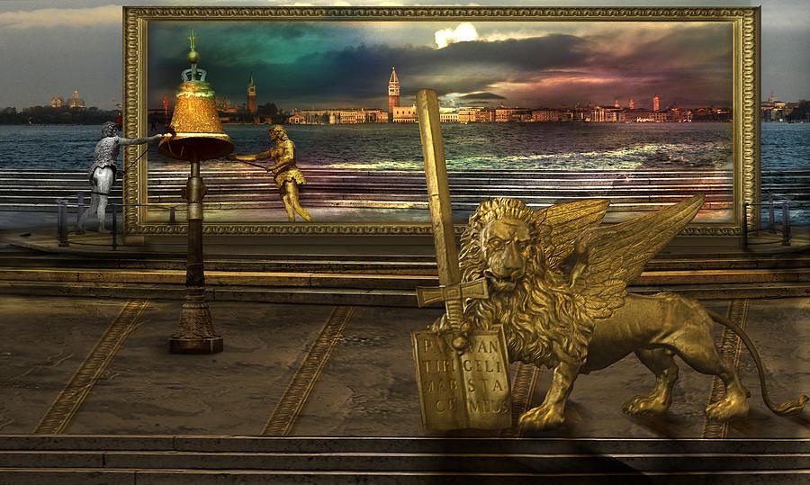 Golden Lion From Alternative Earth Photograph by Desislava Draganova