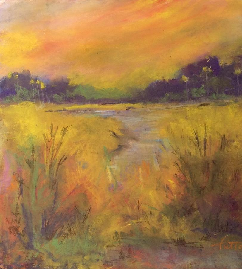 Golden Marsh by Karen Ann Patton