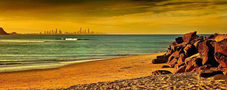 Golden Paradise Photograph
