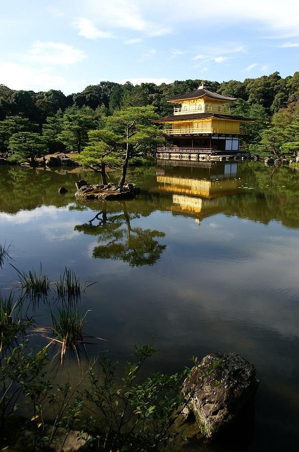 Golden Pavilion Photograph - Golden Pavilion In Kyoto by Jessica Rose