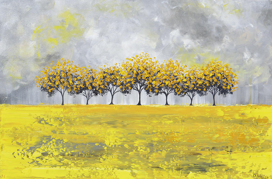 Golden Rain by Christine Bell