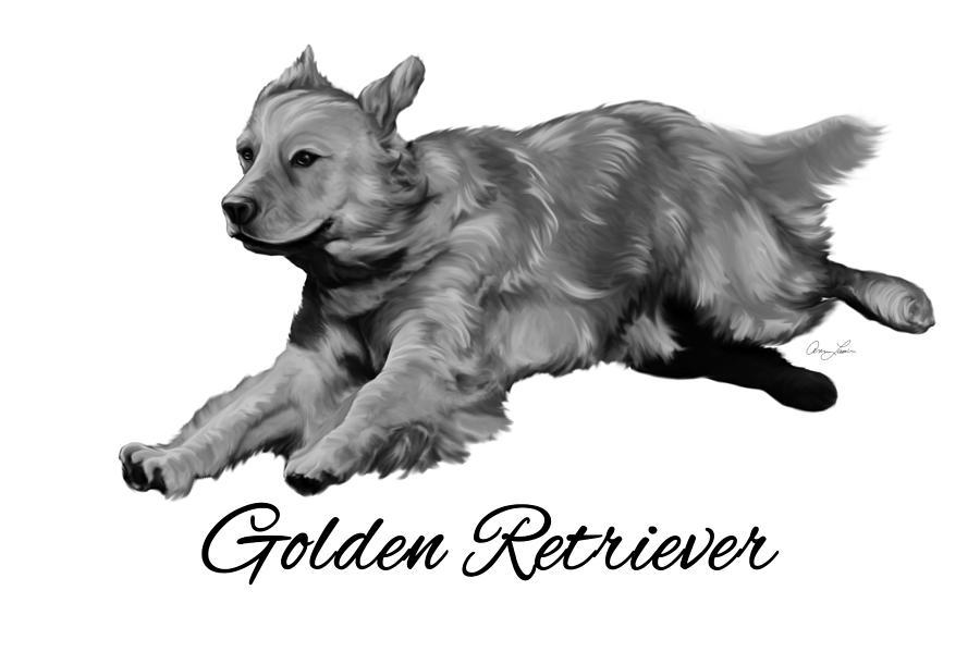 Golden Retriever by Ann Lauwers