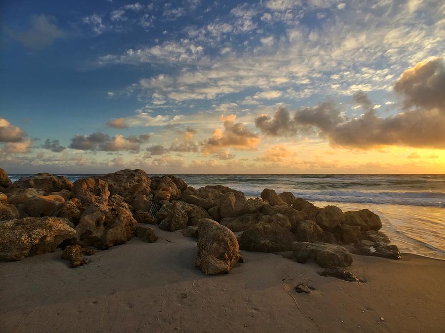 Golden Rocks by Juan Montalvo