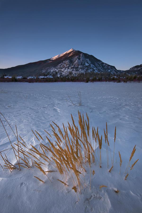 Mountain Photograph - Golden by Ryan Heffron