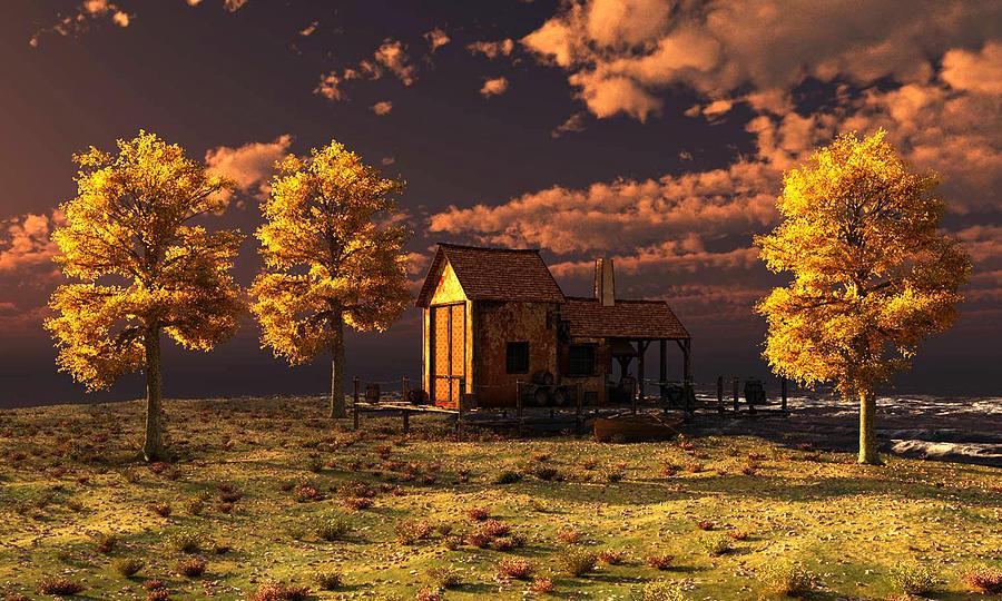 Golden Sunrise by John Junek