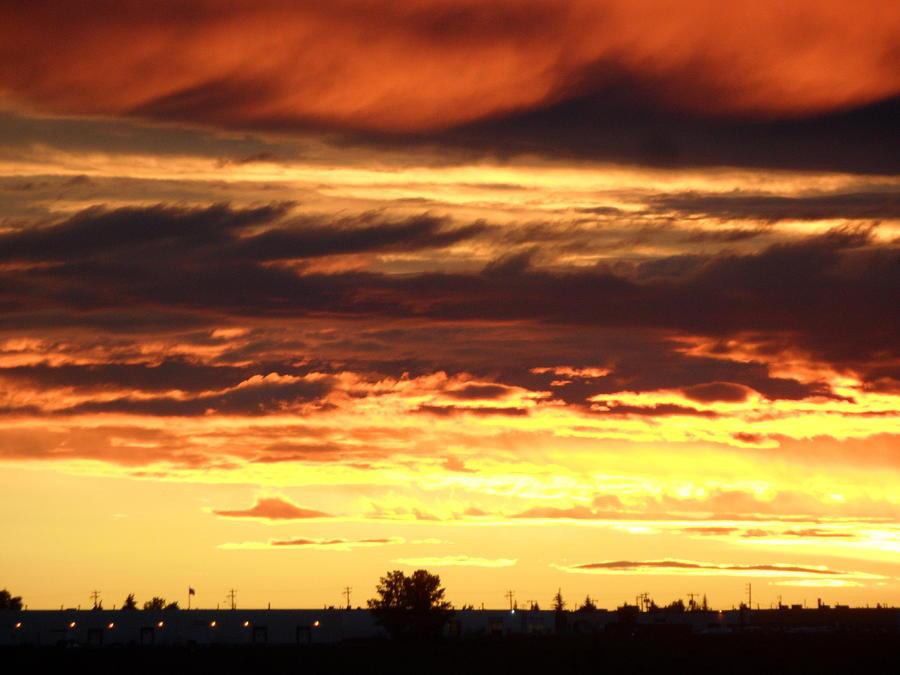 Sunset Photograph - Golden Sunset IIi by Mark Lehar