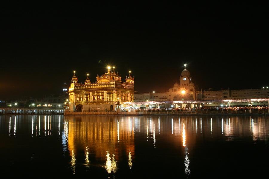 Golden Temple Photograph by © Deepak Bhatia