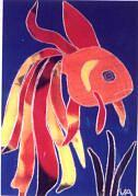 Goldfish Painting - Goldfish by Valerie X Armstrong
