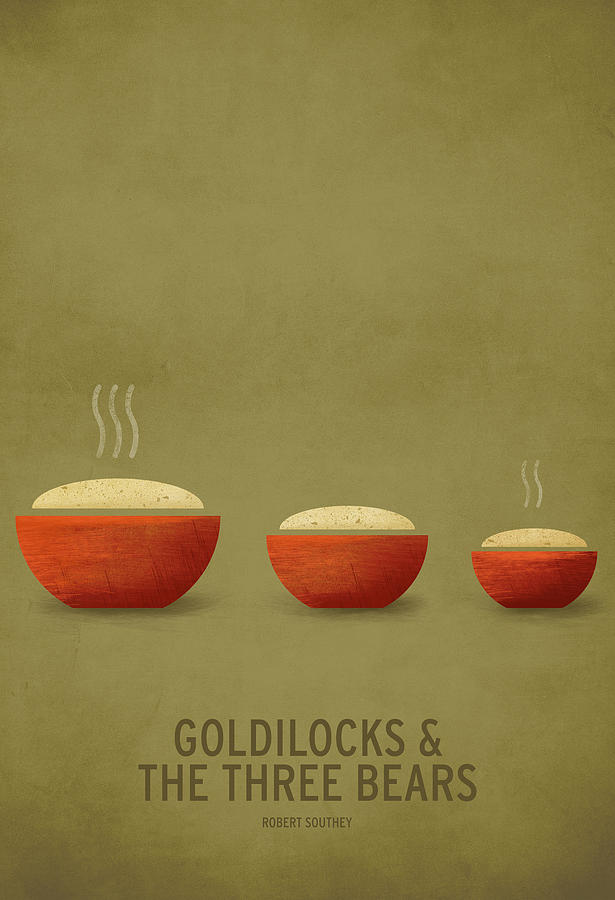 Stories Digital Art Digital Art - Goldilocks And The Three Bears by Christian Jackson