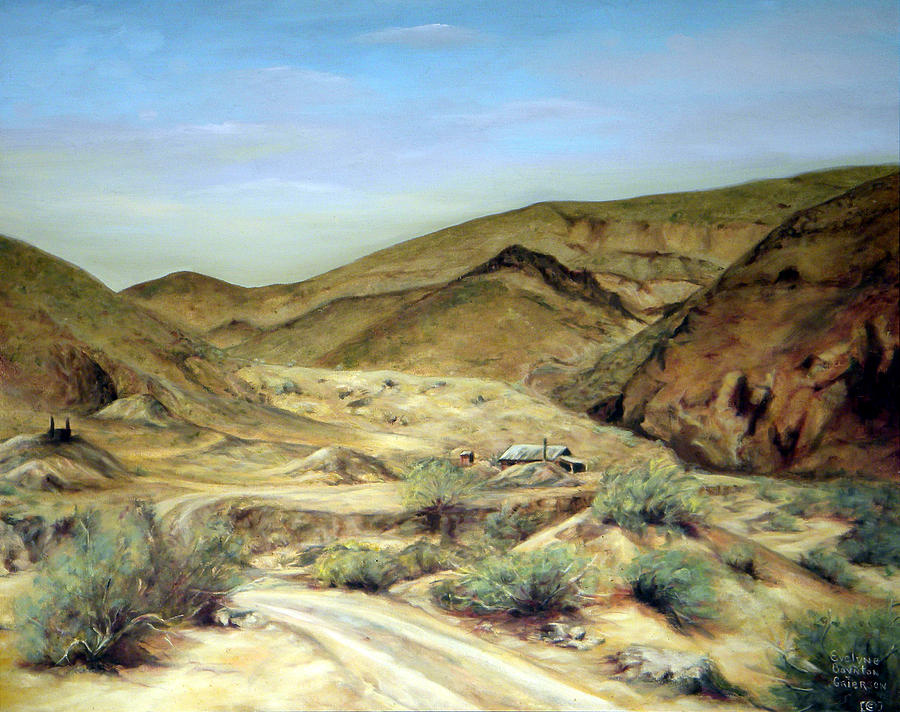 West Painting - Goler Gultch California by Evelyne Boynton Grierson
