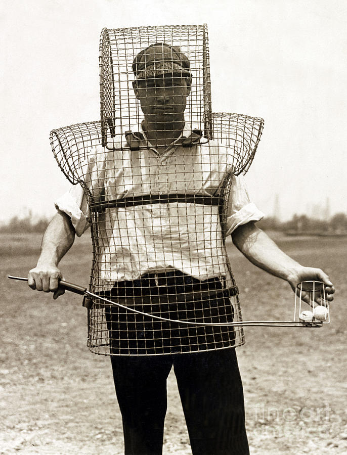 Golf Caddy Armor 1920s Photograph By Science Source