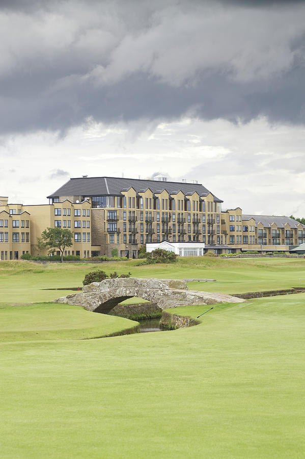 St Andrews Photograph - Golf Hotel, St Andrews by R Kerr