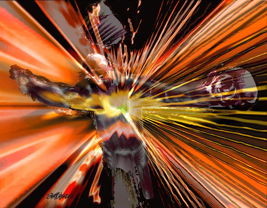 Golgotha Digital Art - Golgotha by Seth Weaver