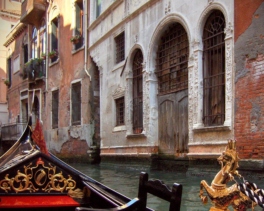 Gondola Photograph - Gondola by Julie Geiss