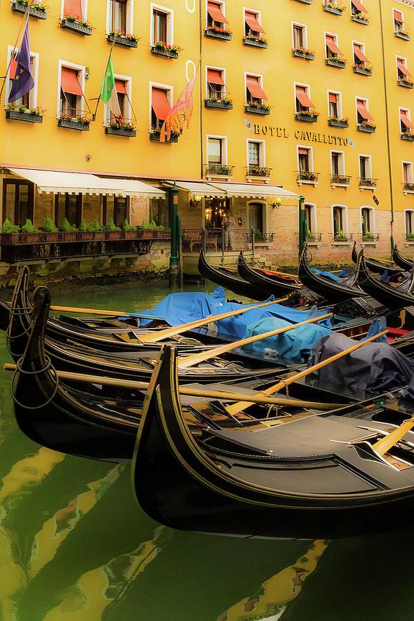 Gondola Parking by Douglas Tate