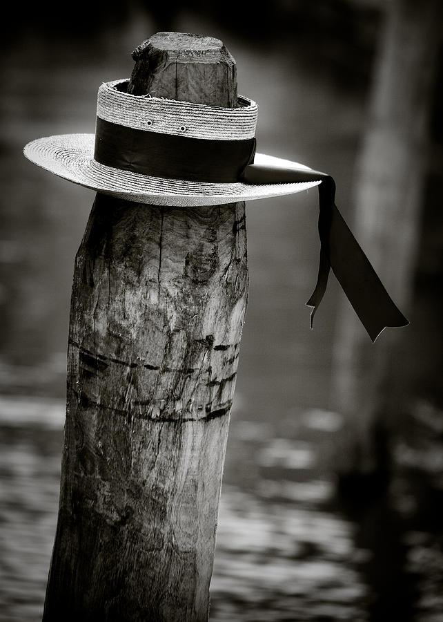 Venice Photograph - Gondolier Hat by Dave Bowman