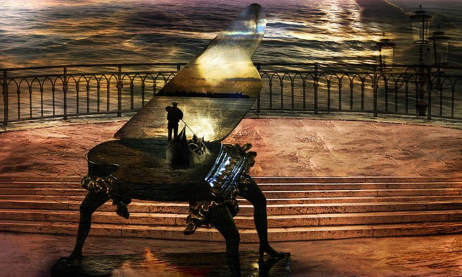 Gondolier sonata Photograph by Desislava Draganova