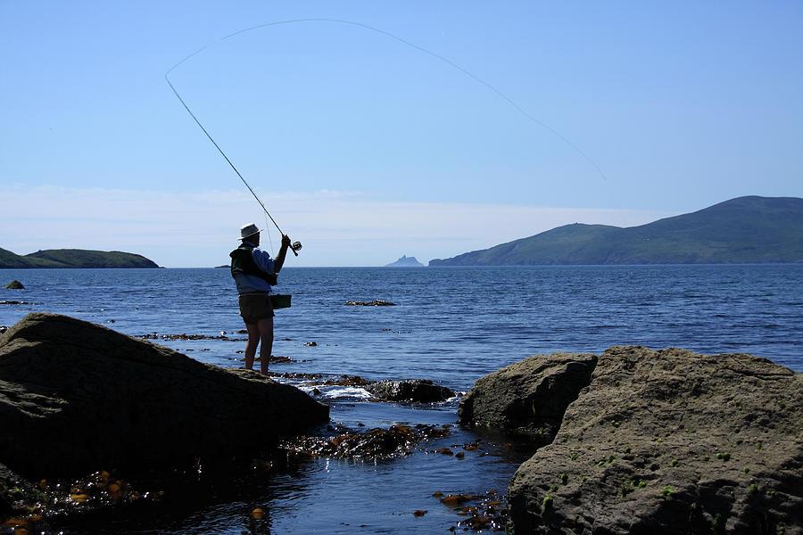 Fishing Photograph - Gone Fishing by Aidan Moran