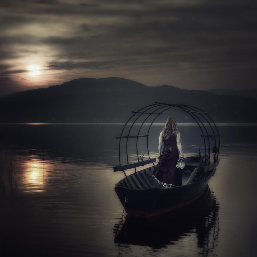 Woman Photograph - Gone Fishing by Joana Kruse