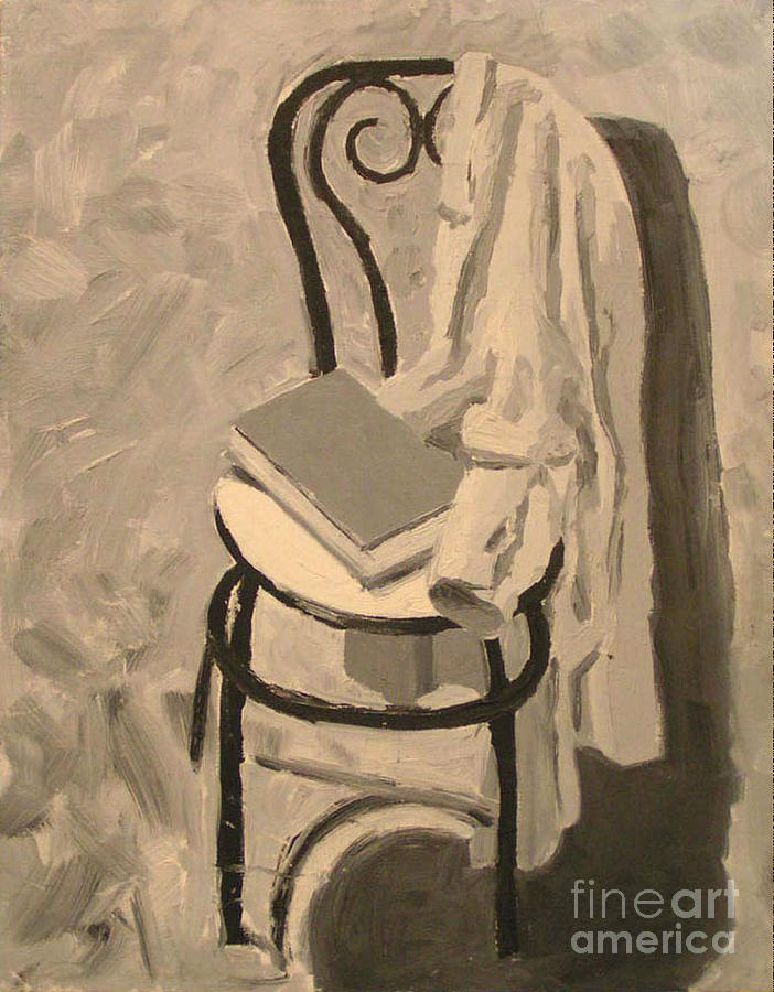 Still Life Painting - Gone Long Time Ago by Azadeh Amiri
