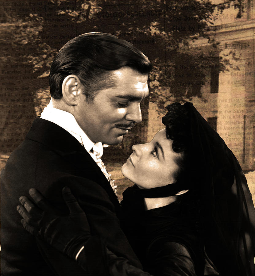 Gone With The Wind Digital Art - Gone With The Wind by Valentina Hramov