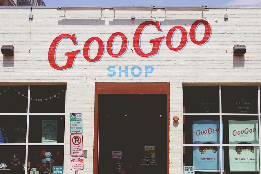 Nashville Photograph - Goo Goo Shop- Photography by Linda Woods by Linda Woods