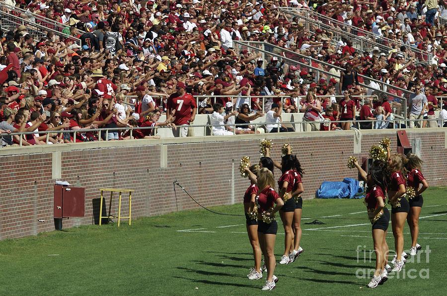 Seminoles Photograph - Good Cheer by Allen Simmons